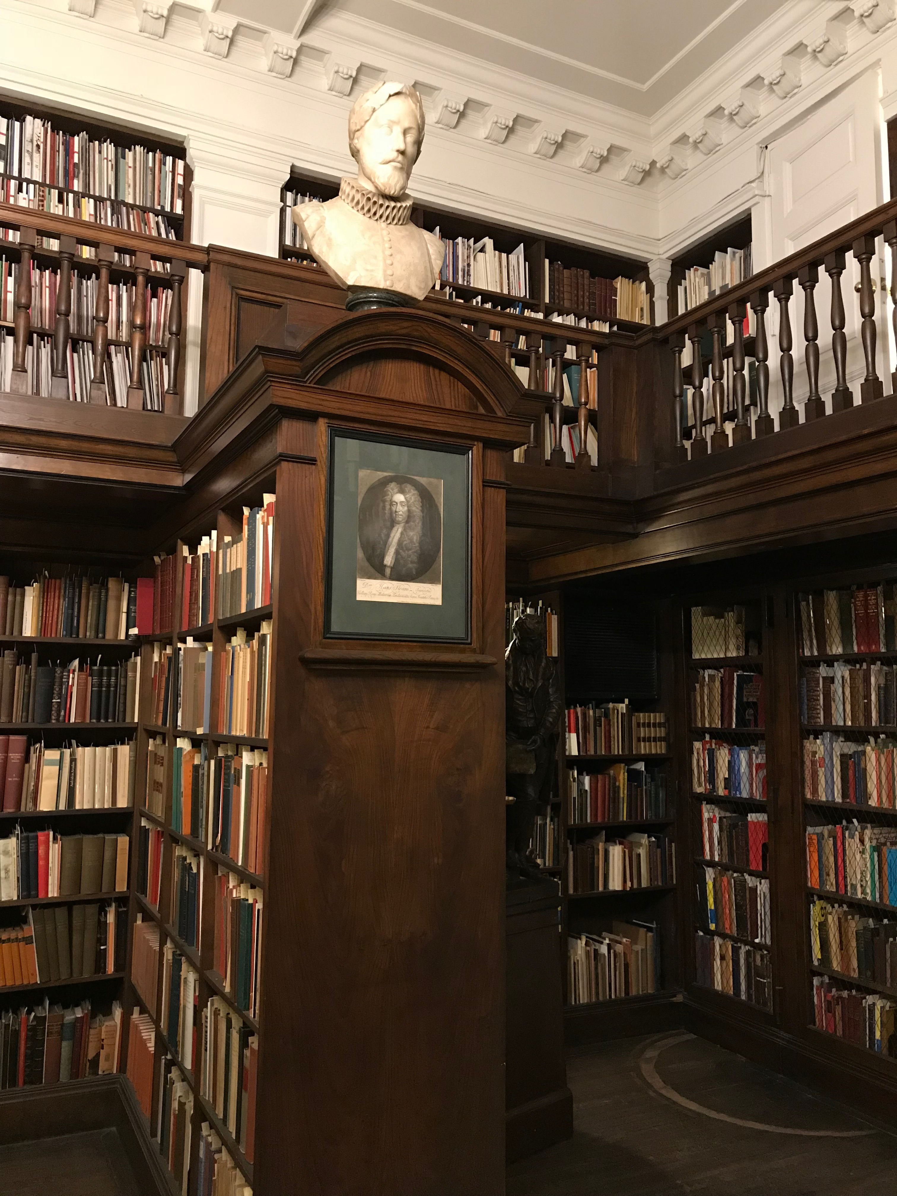 The Secret Bookcase Door In The Library The Grolier Club